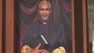 Ousted Shiloh Missionary Baptist Church pastor Juan McFarland (Still via WSFA 12 News)
